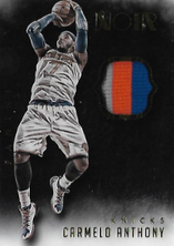 CARMELO ANTHONY / Noir Patch - No. ANP-CA  (#d 18/25)