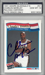 CHARLES BARKLEY / Hoops McDonald´s AU - No. 51