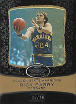 RICK BARRY / Echelon Gold - No. 43  (#d 5/10)