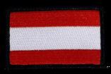 Stoffwappen Fahne Austria