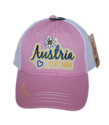 Kappe Austria mesh pink