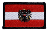 Stoffwappen Fahne Austria + Adler