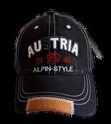 Kappe Austria Alpin Style schwarz