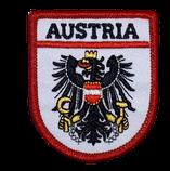 Stoffwapen Austria Adler schwarz
