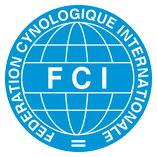 Logo des FCI; Hundezucht; Internationaler Verband