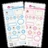 Pegatinas y embellecedores para dar un toque diferente a tus creaciones de scrapbooking