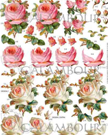 Papel decoupage para efectos de relieve 3D