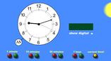 werkende klok