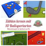 Spielbuch Nähanleitung Ballsport Jungs Aktivity Buch
