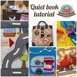 Quiet book Teddy around the world instruction templateTutorial patterns quiet book activity book toddler sewing