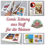 Quiet book aus Stoff  Spielbuch Stoffbuch Nähanleitung