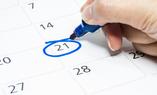 Plan een gratis afspraak in op de kalender voor het opmeten van uw vloer en advies in huis