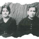 Ascensión con su madre, Dña. Ascensión Sánchez Rodriguez