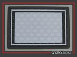 Buffetschild grey