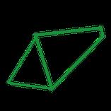Diamant Rahmenform für e-Bikes
