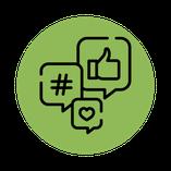 Leistung Social Media Marketing