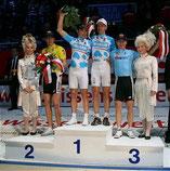 Sieg beim 45. Bremer Sechstagerennen für Leif und Erik Zabel