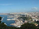 Die algerische Stadt Oran