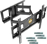 RICOO R06-F, Starke TV Wandhalterung Schwenkbar Universal für 40-75 Zoll Fernseher Curved-Bildschirm, TV-Halterung Neigbar, max. 95Kg & VESA 600x400