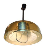 Hanging Lamp Light Pendant GUZZINI Pull Down Rise Fall UFO Sputnik Space Age