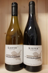 Weingut Kiefer Grauburgunder und Spätburgunder