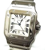 カルティエ サントスガルベLMメンズクォーツ 腕時計