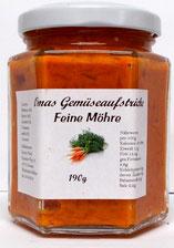 vegetarische Gemüseaufstrich Feine Möhre