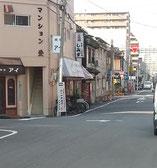 関西スーパー南側道路