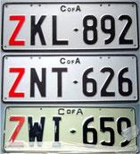 Kennzeichen aus Australien kaufen