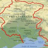 Italienische Grappa Regionen