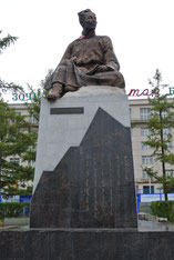 D・ナツァグドルジ像