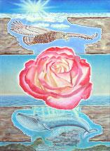 """© Bode """"Beschützte Rose"""""""