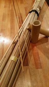 Bambus Spleiße Blank split cane bamboo Tonkin Gespließte