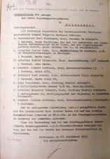 Nachweis u.a. über die Einziehung von Fahrrädern, 27.9.1933.  Foto: StA Göttingen