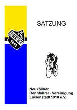 Satzung, NRVg. Luisenstadt Radsport Berlin