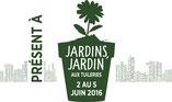 Archi'Tendances présent à Jardins, Jardin aux Tuileries du 2 au 5 juin 2016