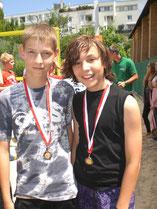 Bronze für Alex & Manuel