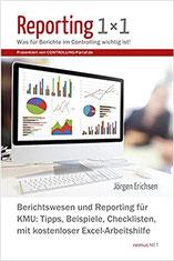 Buch Reporting 1x1 Jörgen Erichsen