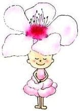 家族葬の願いを聞くサクラの花の妖精