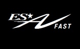 "Logo treno ""ALTA VELOCITA' FAST""."