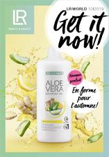 Fabriqué avec 85 % de gel de feuille d'Aloe Vera, le nouveau Gel à boire Aloe Vera Immune Plus est enrichi avec des stimulants immunitaires traditionnels tels que le gingembre, le citron et le miel. Immune Plus soutient votre système immunitaire
