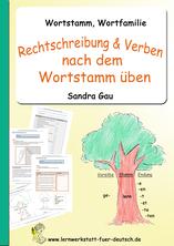Wortstamm Grundschule, Wortstamm Verben, Wortstamm Deutsch, Wortstamm Wortfamilie, Wortstamm üben