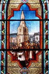 La Consécration du nouveau clocher en 1904