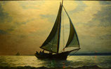 """#2-J.G. Tyler, signed oil on canvax, 14.5"""" x 21"""""""