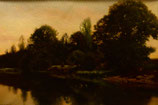 """#14-H.P. Smith, signed oil on canvas, 14"""" x 20"""""""
