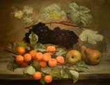 """#1-E.C. Ulnitz, signed oil on canvas, dated 1920, 17"""" x 22"""""""