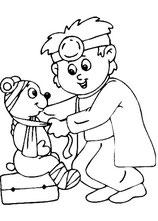 Arzt mit Teddy