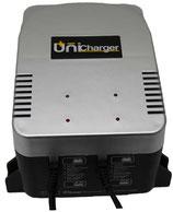 Unibat Multicharger 2 Ladegerät, 12 Volt, 2 Ah, 1-2 Batterien gleichzeitig