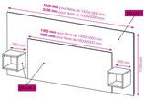 Plan d'une tête de lit