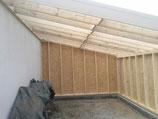 Extension bois - réalisation FMA Menuiserie Lezay